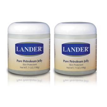LANDER Pure Petroleum Jelly 198g, Set of 2