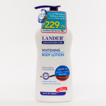 Lander Whitening Body Lotion 500ml