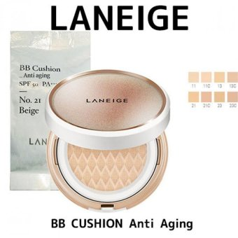 Laneige BB Cushion_Anti-aging Colors : No.11 Porcelain 15g + refill(15g) - intl