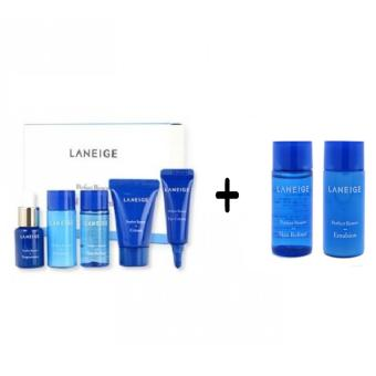 Laneige Perfect Renew Trial Kit (5items) with Laneige Perfect RenewSkin Refiner & Emulsion Set (Mini) Korean Cosmetics Price Philippines