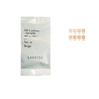 [Laneige]BB Cushion Anti-Aging Refill15g (#21C Cool Beige) NEW - intl