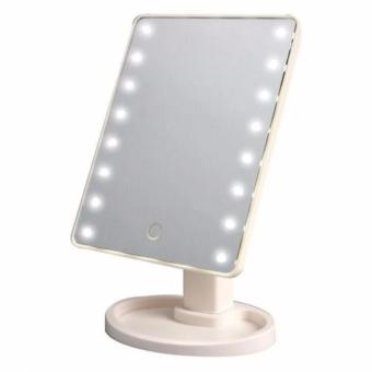 LED Vanity Makeup Mirror with Lights Table Lamp & Cosmetic Mirror (White) - 2