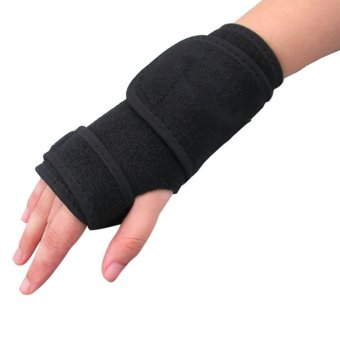 Left and Right Bandage Orthopedic Hand Brace Wrist Support FingerSplint Carpal Tunnel Syndrome - intl