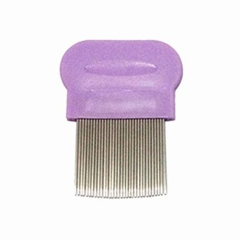 Lice Terminator Removes Dandruff Hair Comb Magic Suyod (Purple)