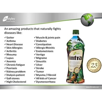 Lifestyles Intra 23 Herbal Juice - 4