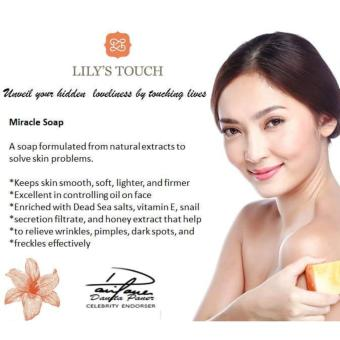 Lily's Touch Miracle Cream 50ml FREE 2 Miracle Soap 90g - 3