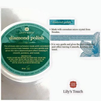 Lily's Touch SET of Miracle Cream 50ml + Snail Serum 30ml + Diamond Polish 50ml + Miracle Soap 90g with FREE 1 Sachet of Baian Lishou Slimming Coffee (STRONG VARIANT) - 2