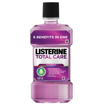 Listerine Total Care Mouthwash 500ml Price Philippines