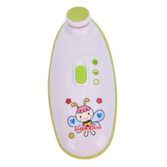 Little Bees Baby Nail Clippers Electric Nail Trimmer Safe AndEffective - intl