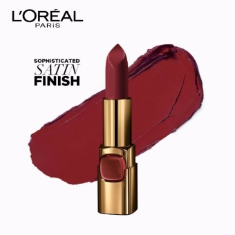 L'Oreal Paris Color Riche Le Rouge Paris Fashion Week - George V Caramel 618