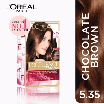 L'Oreal Paris Excellence Creme Hair Color 14g (No.5.35 ChocolateBrown) Price Philippines