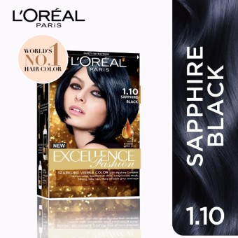 L'Oreal Paris Excellence Fashion - 1.10 Sapphire Black