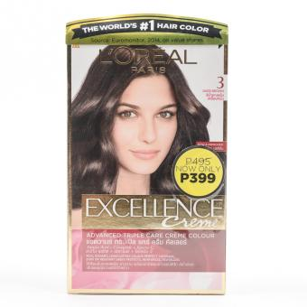 L'Oreal Paris Excellence Hair Color (Dark Brown) Price Philippines