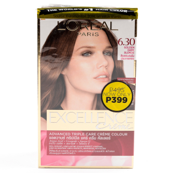 L'Oreal Paris Excellence Hair Color (Golden Dark Blonde) Price Philippines