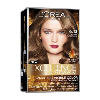 L'Oreal Paris Excellence Hair Color (Golden Nude Brown)
