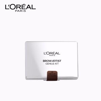 L'Oreal Paris Eyebrow Artist Genius Kit 3.5g (#02 Medium to Dark) - 2