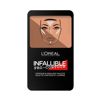 L'Oreal Paris Infallible Pro Contour Palette 0.24 oz (Medium)
