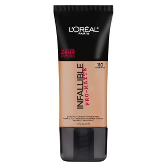 L'Oreal Paris Infallible Pro-Matte Liquid Foundation - 110 Creme Cafe