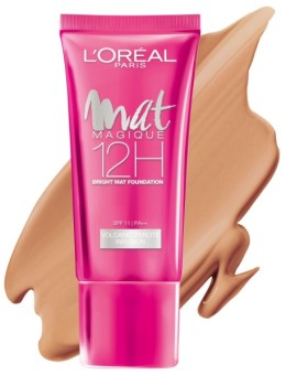 L'Oreal Paris Mat Magique Liquid Foundation - N5 Nude Cream