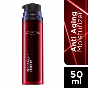 L'Oreal Paris Revitalift Laser x3 Total Care Moisturizer 50ml Price Philippines