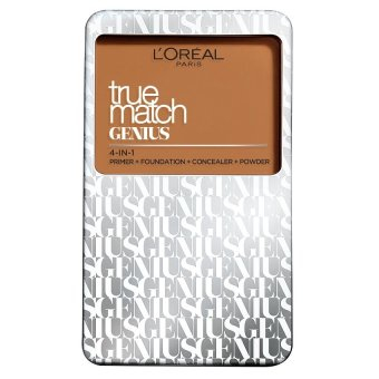 L'Oreal Paris True Match Genius Two Way Cake Compact Foundation 7g (G4 Gold Beige)