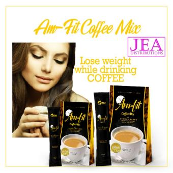 Lose Weight without Exercise Am Fit Coffee Mix Twinpack w/ GarciniaCambogia and African Mango