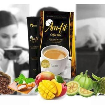Lose Weight without Exercise Am Fit Coffee Mix w/ Garcinia Cambogiaand African Mango