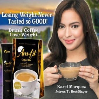 Lose Weight without Exercise Am-Fit Coffee Mix w/ Garcinia Cambogiaand African Mango