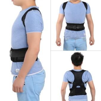 Magnetic Back Shoulder Lumbar Support Posture Correction Belt(L) - intl - 3