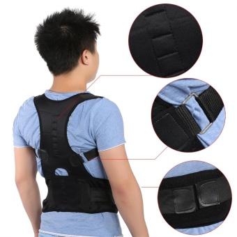 Magnetic Back Shoulder Lumbar Support Posture Correction Belt(L) - intl - 2