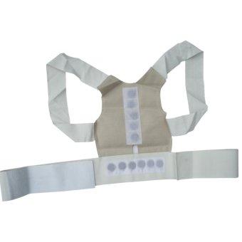 Magnetic Posture Humpback Support Corrector Belt Back Brace Strap(Size:XL) - intl - 4