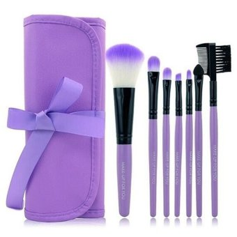 Make-Up For You Makeup Brush 7-piece Set (Purple) Price Philippines