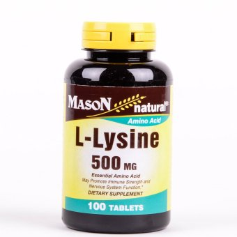 Mason L-Lysine 500mg 100 Tablets