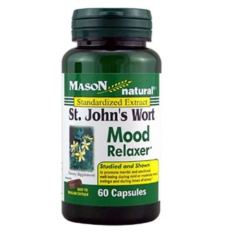 Mason St. John's Wort Capsules Bottle of 60