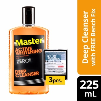 Master Deep Cleanser Active Whitening 225ml with Free Bench Clay Doh Price Philippines