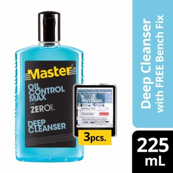 Master Deep Cleanser Oil Control Max 225ml with Free Bench Clay Doh Price Philippines