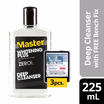 Master Deep Cleanser Whitening Plus 225ml with Free Bench Clay Doh Price Philippines