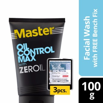 Master Facial Wash Oil Control Max 100g with Free Bench Clay Doh Price Philippines
