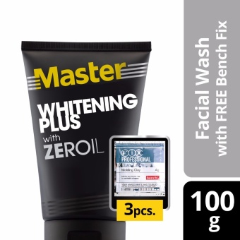 Master Facial Wash Whitening Plus 100g with Free Bench Clay Doh Price Philippines