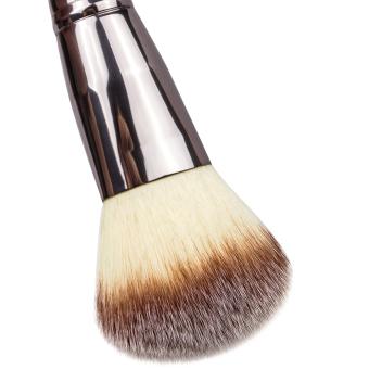 Matto 1pcs Makeup Brush Cosmetics Large Powder Brush for Face Make Up Tools Flawless Foundation Kabuki Brush (Black) - Intl - 3