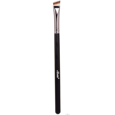 Matto Eyebrow Makeup Brush Angled Detailer Eye Liner Eyebrow Brush Make Up Tools 1pcs (Black) - Intl