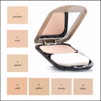 Max Factor Facefinity Compact Foundation (#02 Ivory) 10g - 3