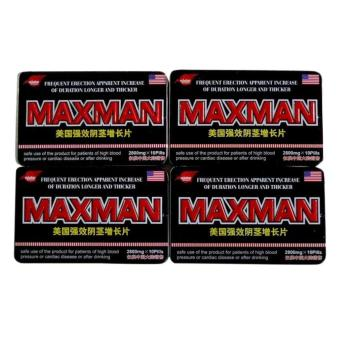 Max-man Penis Enlarger and Sex Enhancement Supplement 2800mg PillsBox of 10 (Set of 4) Price Philippines