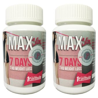 Max Slim Diet Slimming 30 Capsules, Bottle of 2