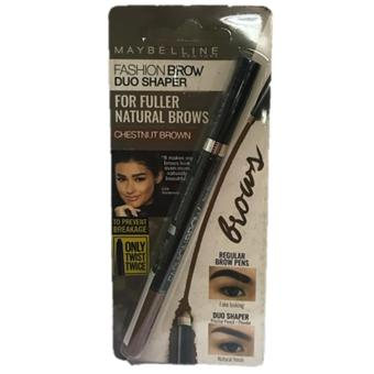 Maybelline Fashion Brow Duo Shaper (Natural Brown) Price Philippines