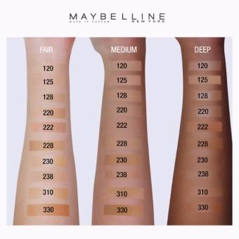 Maybelline Fit Me Matte Poreless Liquid Foundation - 222 True Beige - 2