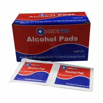 Medipro Alcohol Swabs Pads 100 Sachets/box