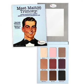 Meet Matt(e) Trimony Matte Eyeshadow Palette