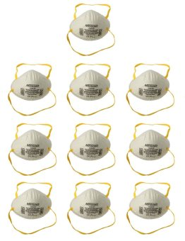 Meisons N95 Dust Mask Particulate Respirator 10pcs
