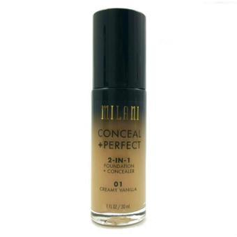 Milani Conceal + Perfect 2-in-1 Foundation + Concealer 30ml (Creamy Vanilla)